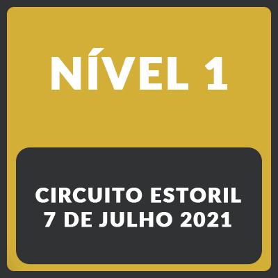 Nível 1 - Estoril - 7 de Julho