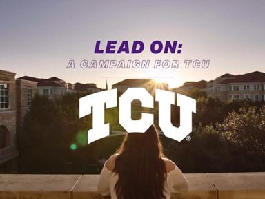 TCU | Lead On Campaign 2019