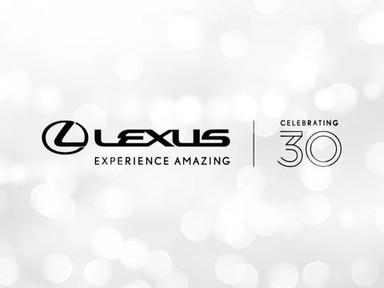 Lexus | 30th Anniversary Celebration Recap
