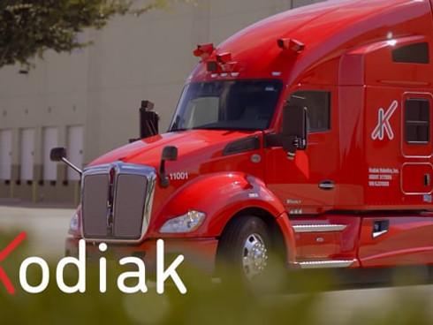 Kodiak   Autonomous 18-Wheeler