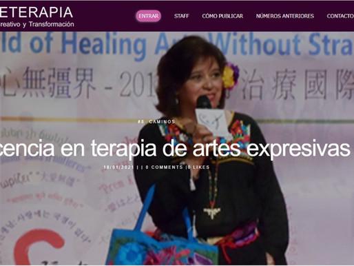 Docencia en terapia de artes expresivas