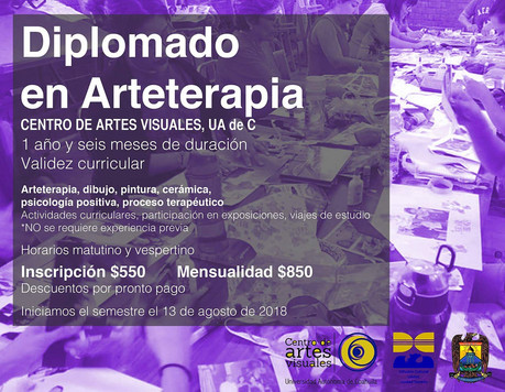 Diplomado Arteterapia CAV 2018- 2019