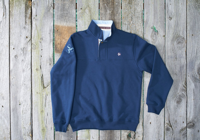 Navy Mackinac Quarter Zip