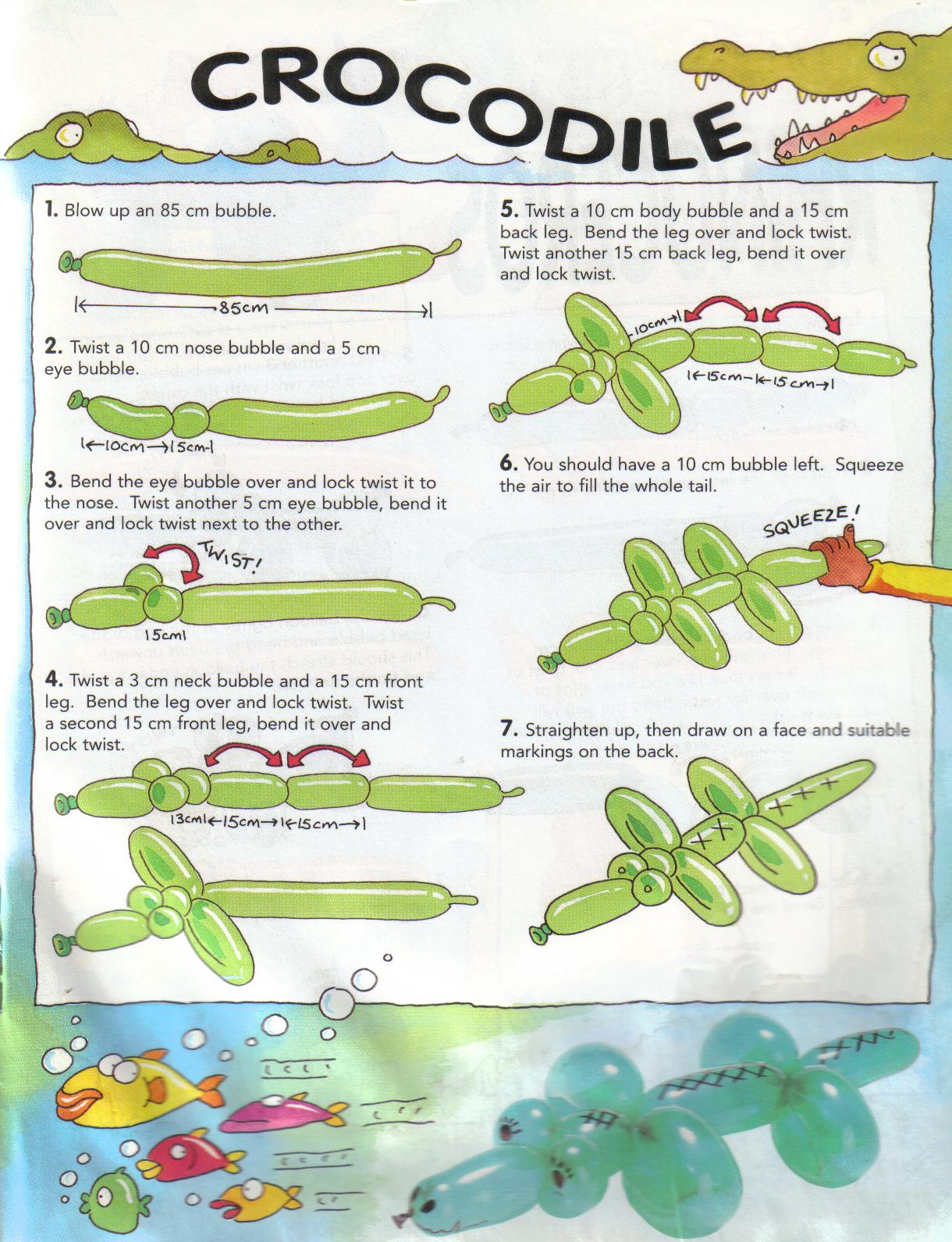BA - Crocodile