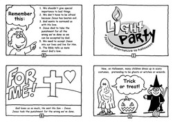 Light Party Tract bw 01