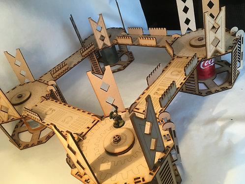 Man Go-Lite System: Bronze Rig/Hive Foundation Platform - 1 Level