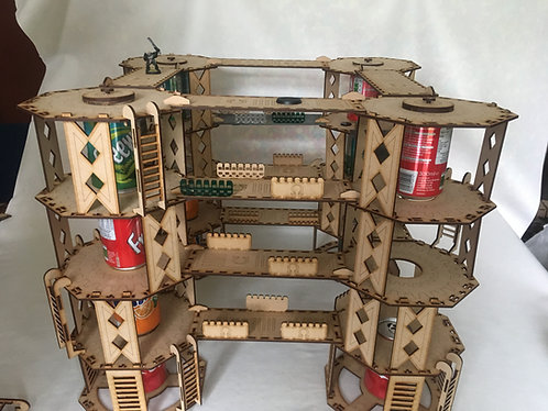 Man Go-Lite System: Platinum Rig/Hive - 4 Levels