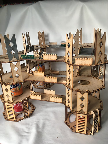 Man Go-Lite System: Gold Rig/Hive - 3 Levels