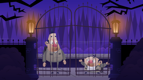 PC Bob- Haunted Heist Background