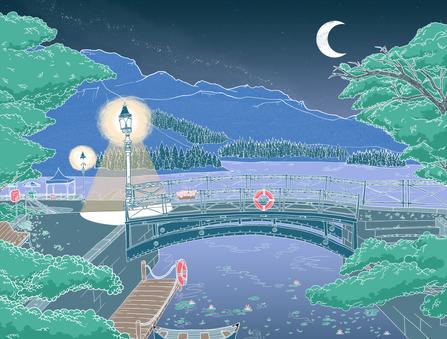 Lakeside Background/ Layout