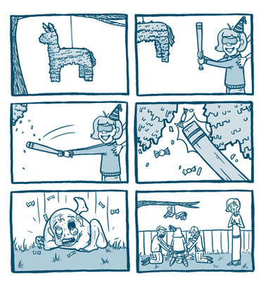 Storyboards for 'Smash'- Unfinished Project