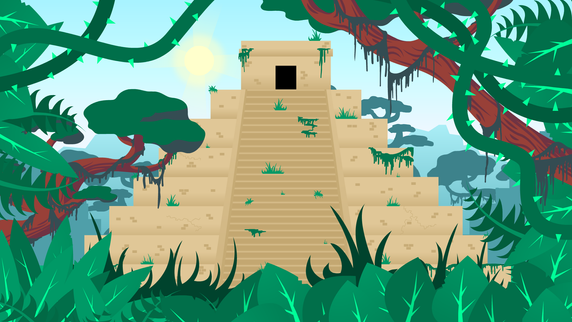 PC Bob- Temple Troubles Background