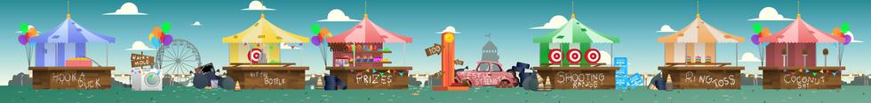 PC Bob- Fairground Fools Background Layout
