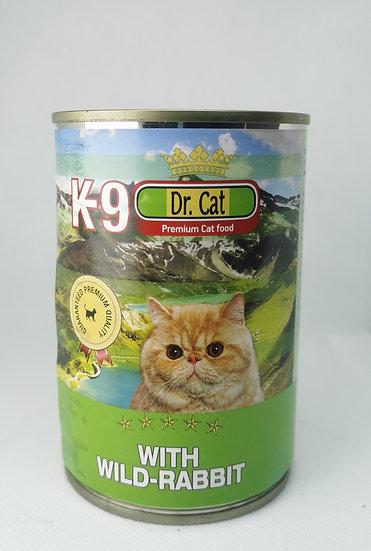 K9 Zec mačke 405g - konzerva