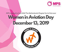 MPS is pleased to host Women in Aviation - The Netherlands Chapter on December 13th