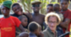 Laurent Maget-tournage Pygmées Cameroun