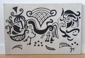 Auteurinconnu, origine Amérique du sud, années 50