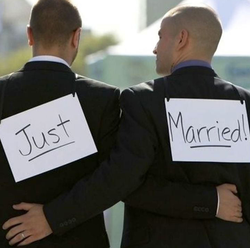 Happily Married LGBTQ Grooms