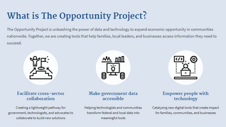 The Opportunity Project Reintroduces Data Access