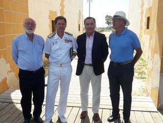 Presentación de la VII Edición de la Regata Almirante Cervera - I Copa Trasur Dos Bahías