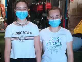 Natalia Torres y Lola Belizón al Campeonato de Europa Láser 4.7