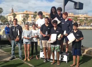 Campeonato de Andalucía de Windsurf en El Trocadero