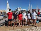 Campeonato de Europa clase Láser 4.7 en Villamoura (Portugal)