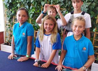 Lucía Alfaro y Fiona Wulff-Ullner, Campeona y Subcampeona del XII Trofeo Concesionario.