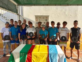 Tres nuevos podios para El Trocadero en la Copa de Andalucía de Laser 4.7 y Radial