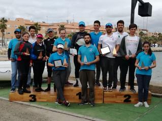 Éxito de los regatistas de El Trocadero en el campeonato de Andalucía de Láser Radial y Standar