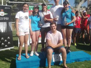 Nuevo éxito del equipo Láser 4.7 en el Campeonato de Andalucía celebrado en Sanlucar de Barrameda.