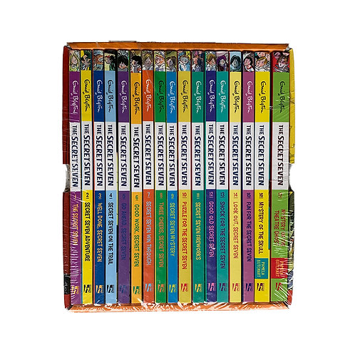 Secret Seven Complete Box set of 17 Titles