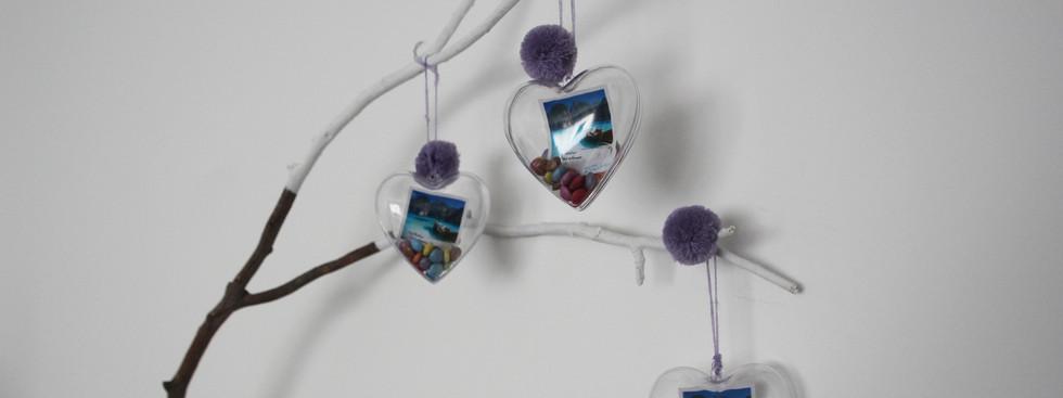 Caixinha-coração com smarties