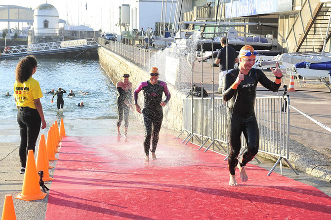 Sou finisher do IRONMAN 70.3 Cascais Portugal de 2018!