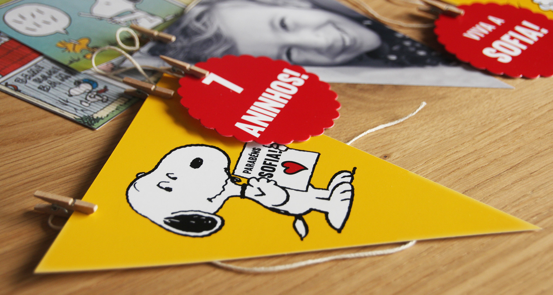 Banner Snoopy