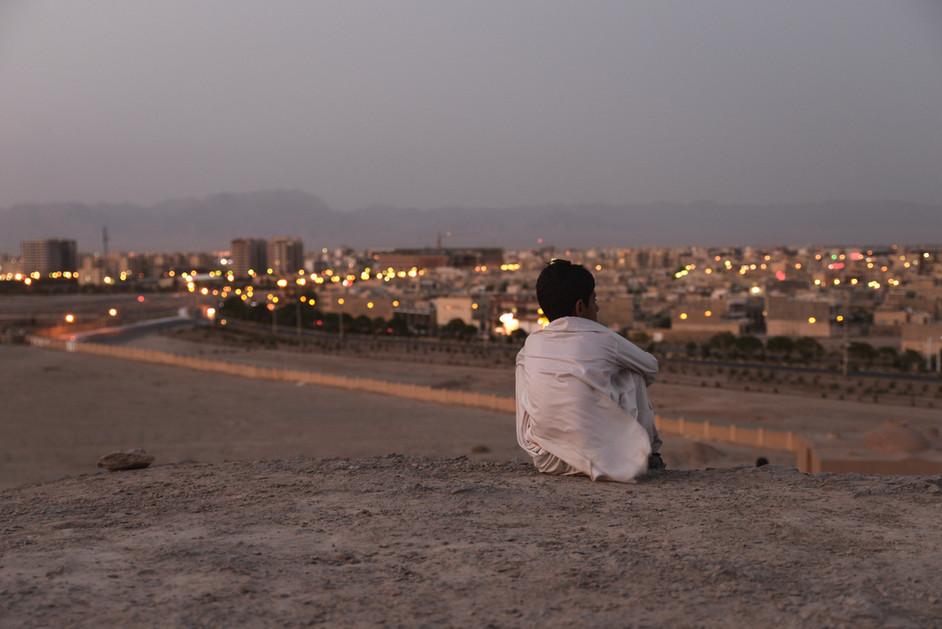 Towers of Silence, Yazd, Iran