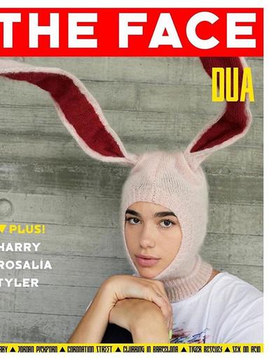Dua Lipa X @thefacemagazine 🐰