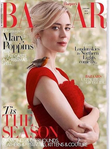 Emily Blunt X Harper Bazaar