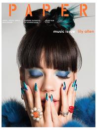 Lily Allen Paper magazine