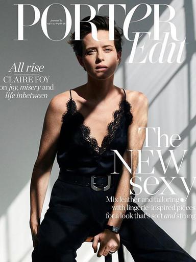 Claire Foy X Porter Edit