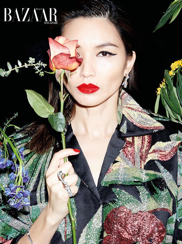 Gemma Chan X Harpers SG X Claire Rothstein