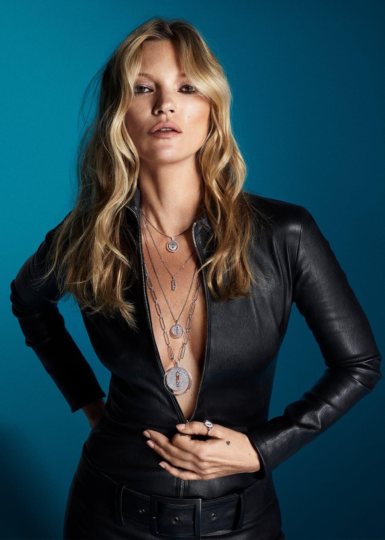 Kate Moss 2020 Messika X Mert & Marcus