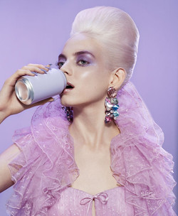 Miles Aldridge X Elle US Beauty