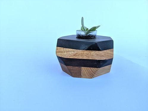 Geo-Block | Ipe + Oak + Mahogany