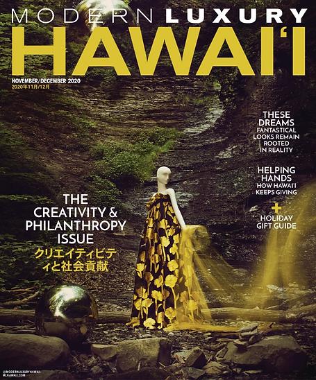 ML HAWAII Nov/Dec 2020 Issue Cover