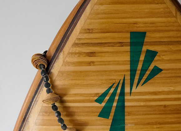 "Hollow Wooden Surfboard   Fish 5'8"""