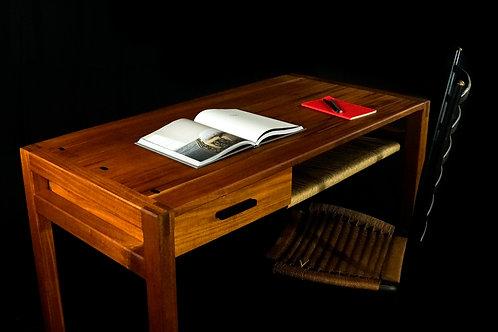 Kamehana Writing Desk   Mahogany + Ebony