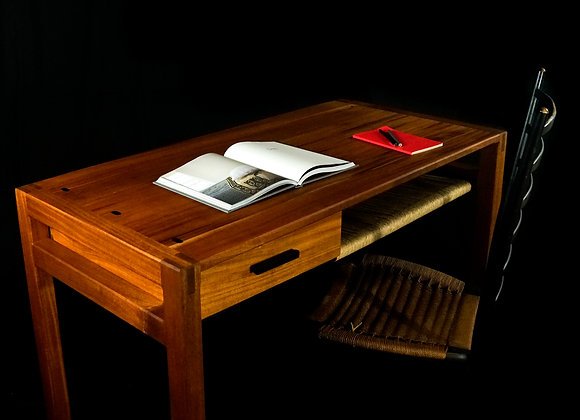 Kamehana Writing Desk | Mahogany + Ebony