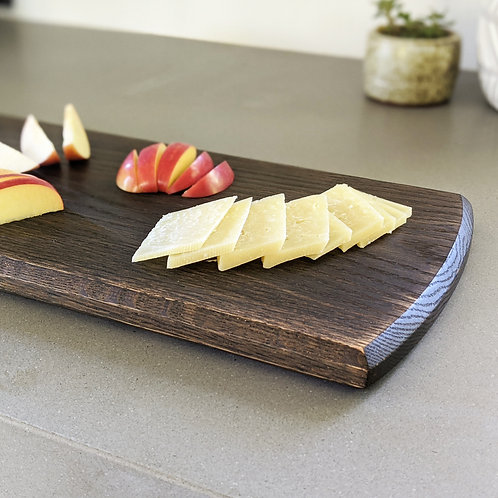 Ebonized Oak Serving Board
