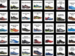 Las zapatillas para montaña mas votadas del 1er semestre de 2016.